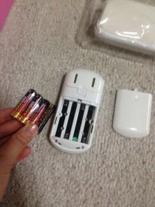 単4電池4本使用