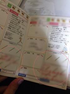 BTBダイエット日記 赤ペンでアドバイス