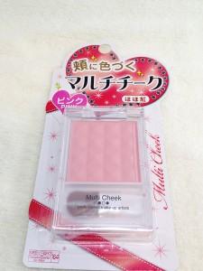 エルファーマルチチーク(ピンク)商品パッケージ
