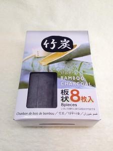 板状竹炭商品パッケージ