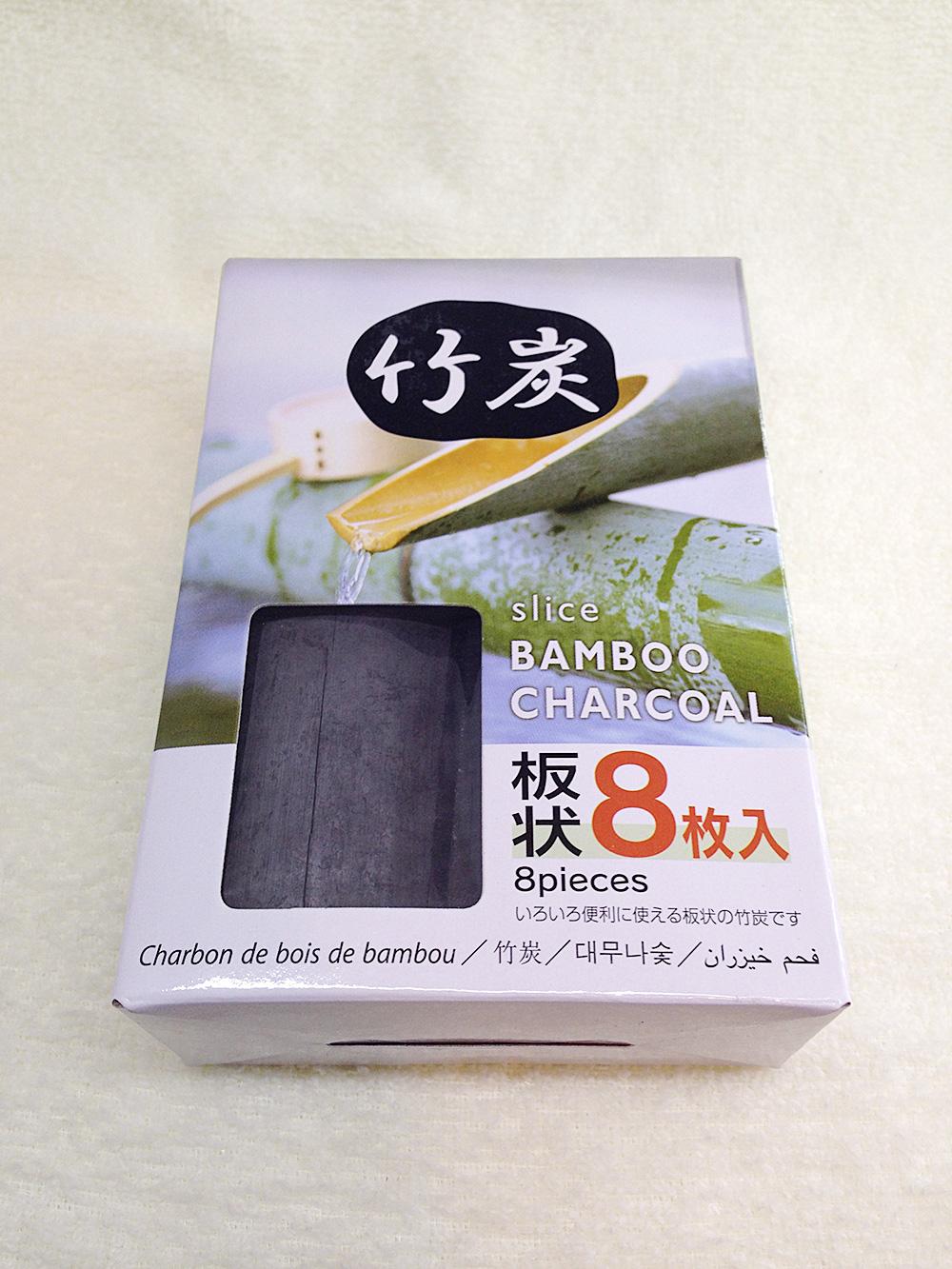 ダイソー100円の竹炭