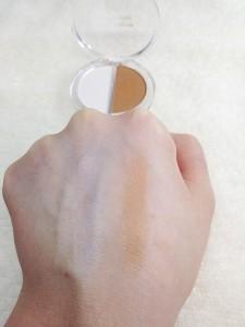 エルファーノーズシャドウA(ノーマル肌用)の発色