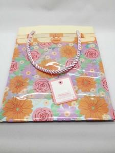 スイマー花柄の袋