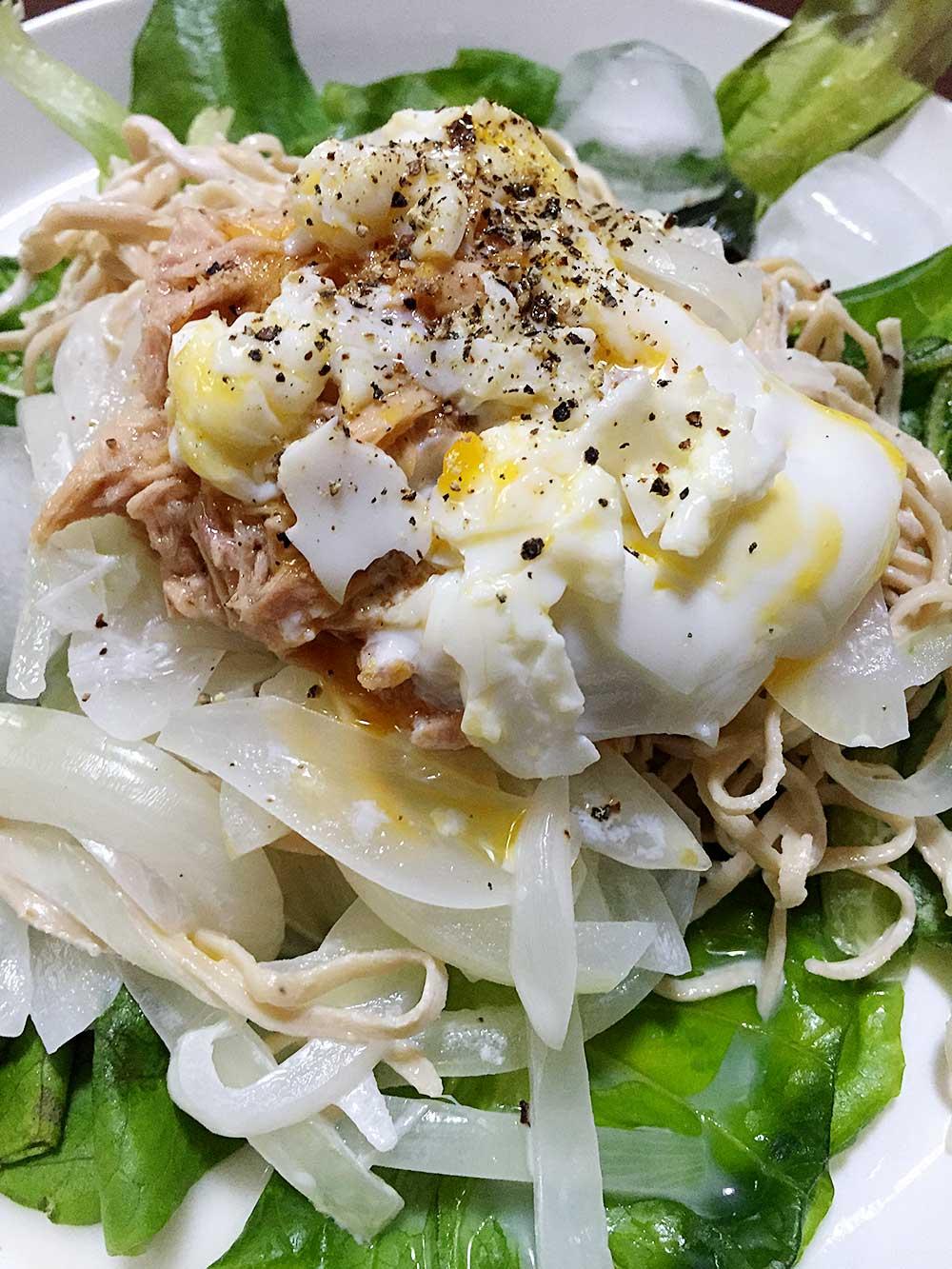 ソイドルレシピ、サラダ