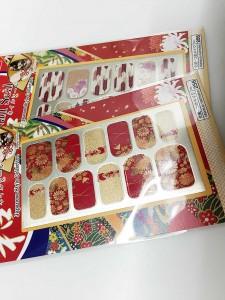 100円ダイソー和柄ネイルシール