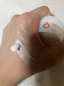 アクポレス クレイクレンズ洗顔料の使用感