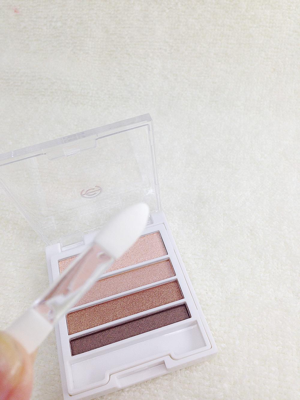 100円コスメAC4カラーグラデーションアイズ(01GB)のレビュー